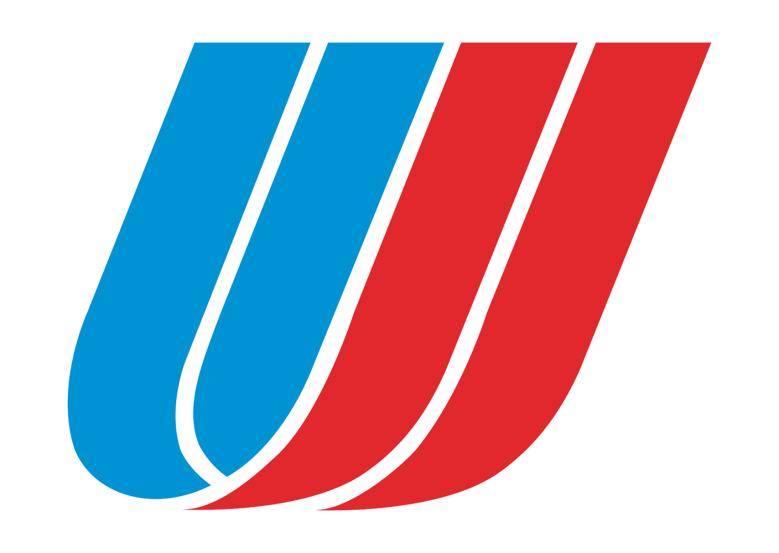 united airline logo, red, blue png #2514