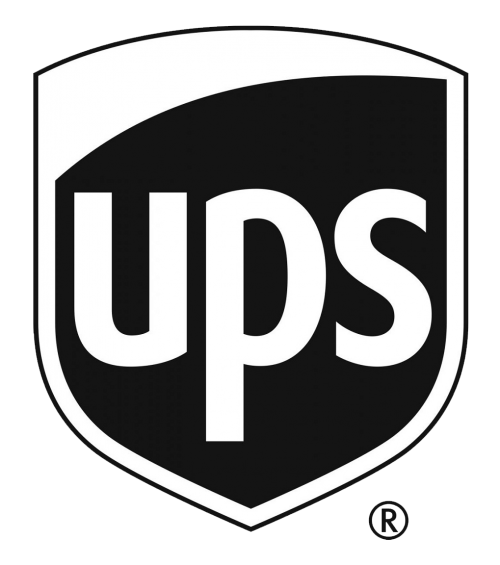 ups black and white logo png transparent pngpix #37536