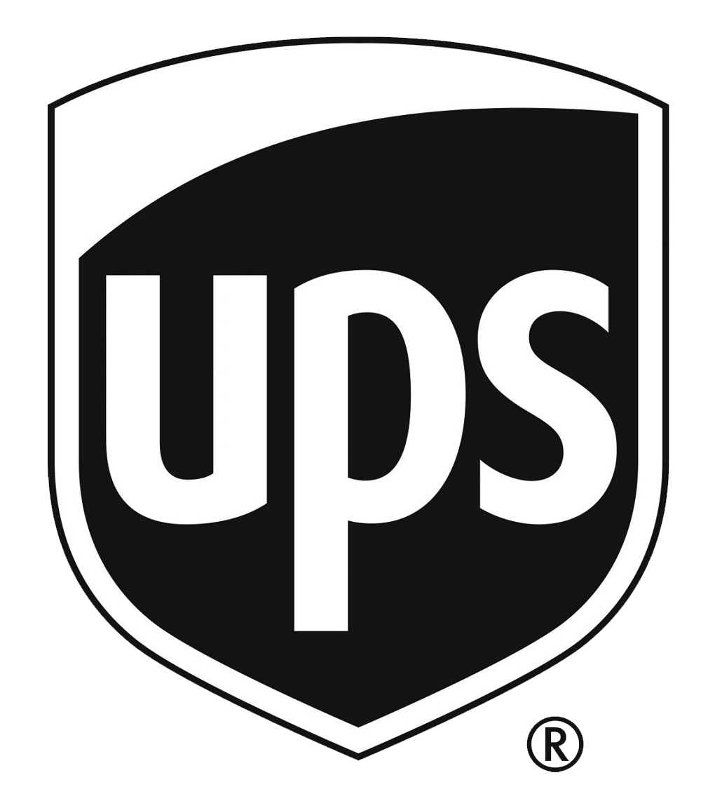ups black and white logo png transparent #4274