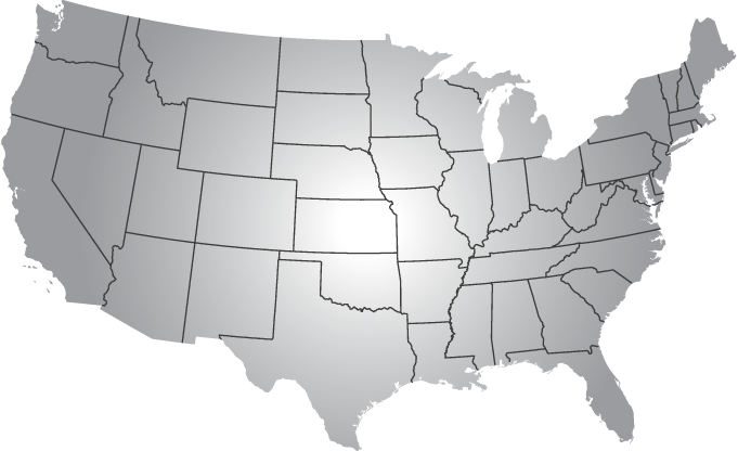 usa map about apx alpha rho chi #36646