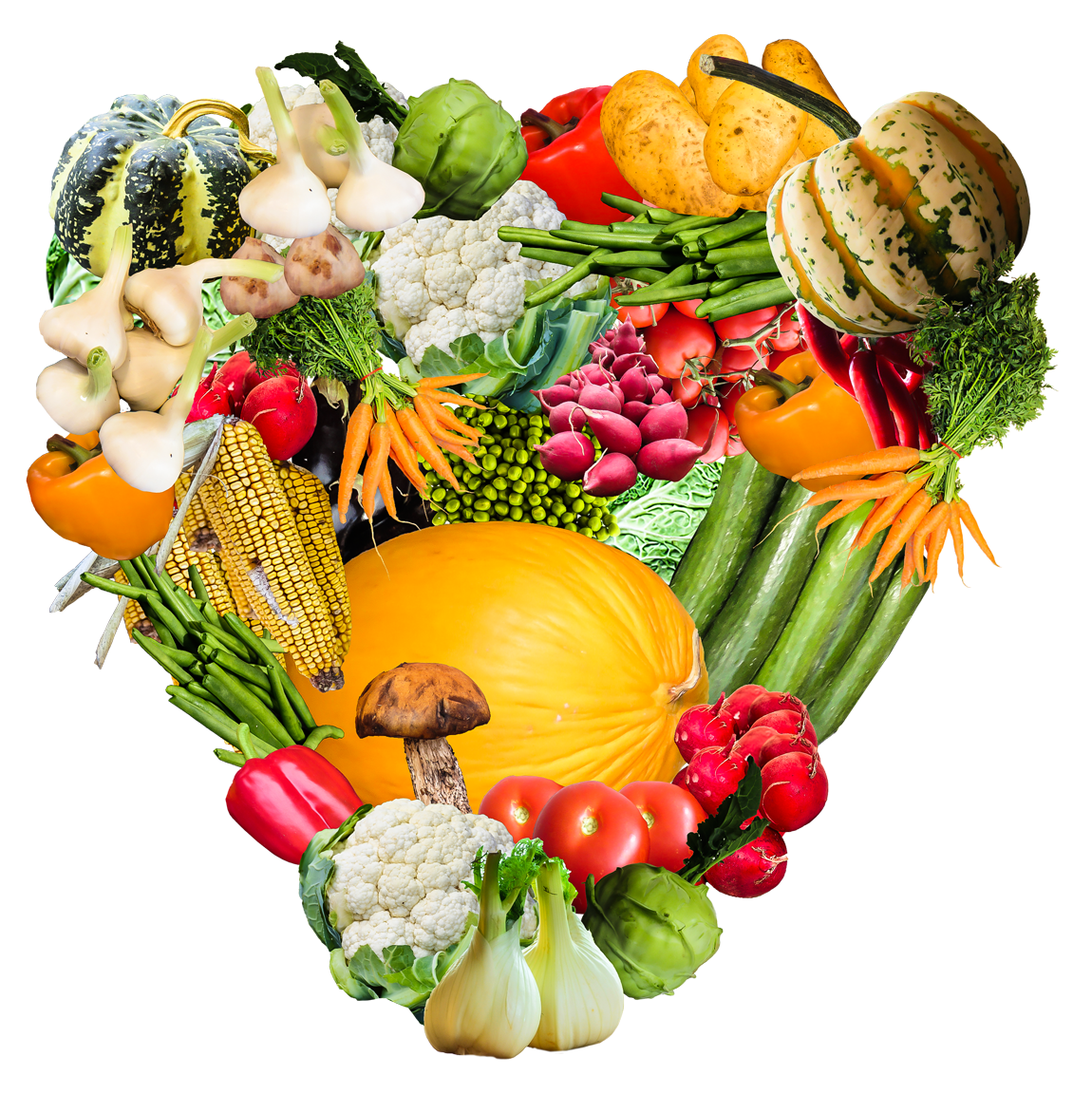 heart vegetables png transparent image pngpix #15396
