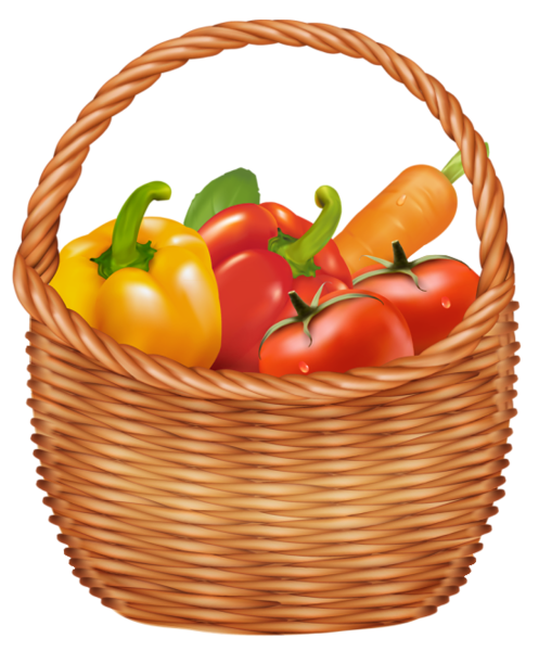 vegetables basket png clipart picture gallery #15434
