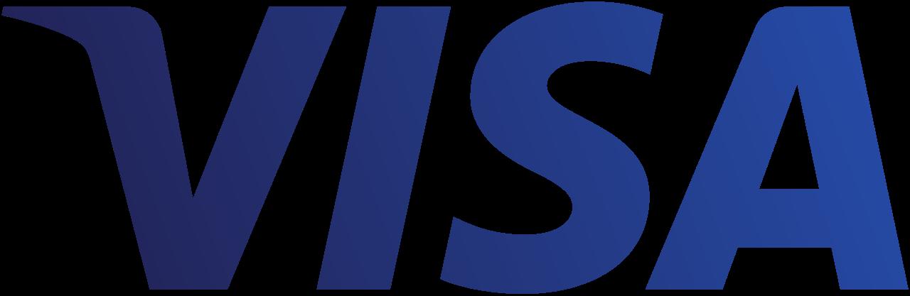 visa blue png