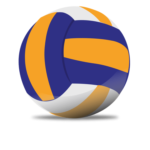 glossy volleyball transparent png svg vector #21782