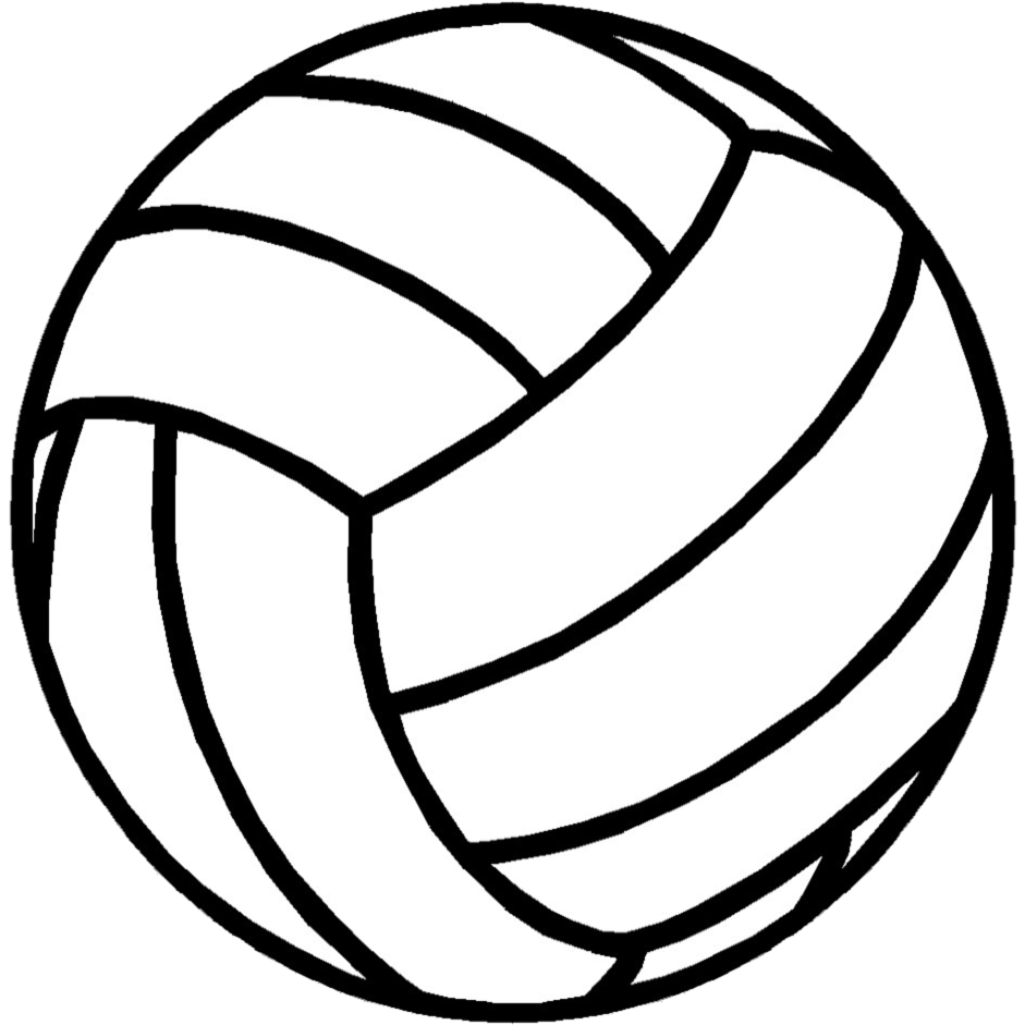 volleyball ball clipart clipart station #21756