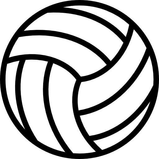 volleyball sports icons #21773