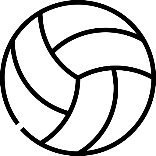 volleyball sports icons #21776
