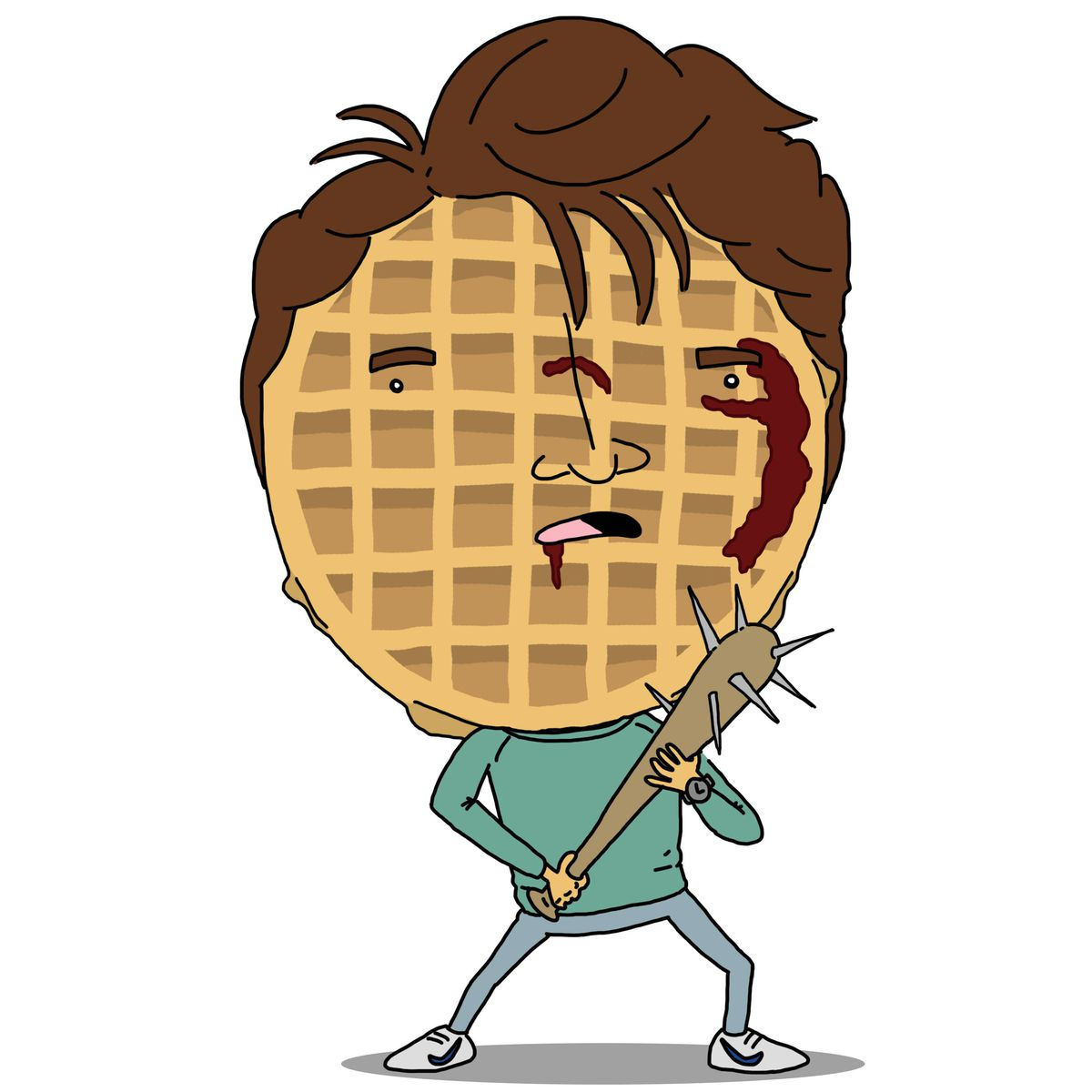 collection waffle clipart stranger things aztec #31883