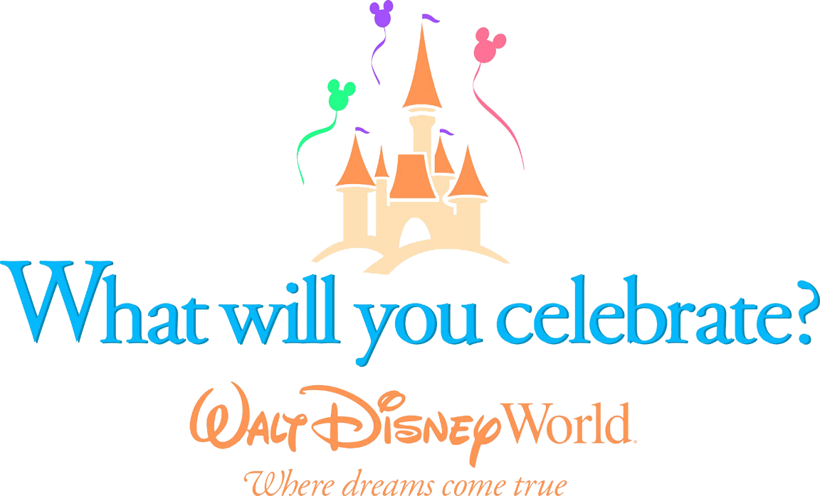 walt disney world, what will you celebrate png logo #6156