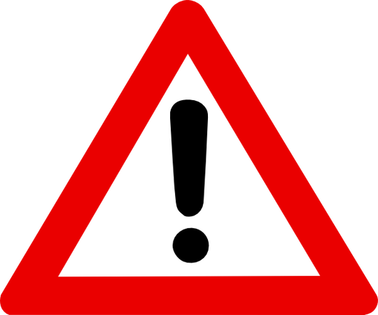 attention warning sign png #39196