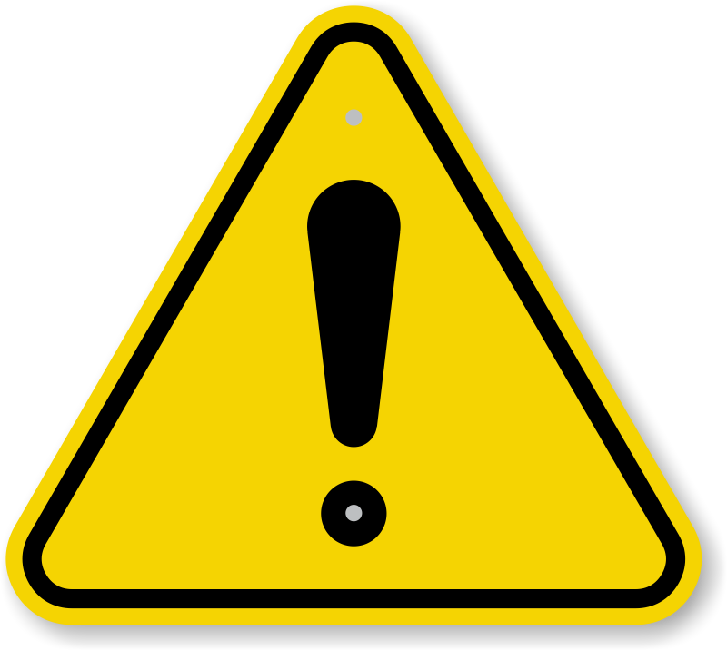 warning sign iso general danger exclamation sign yellow attention #39201