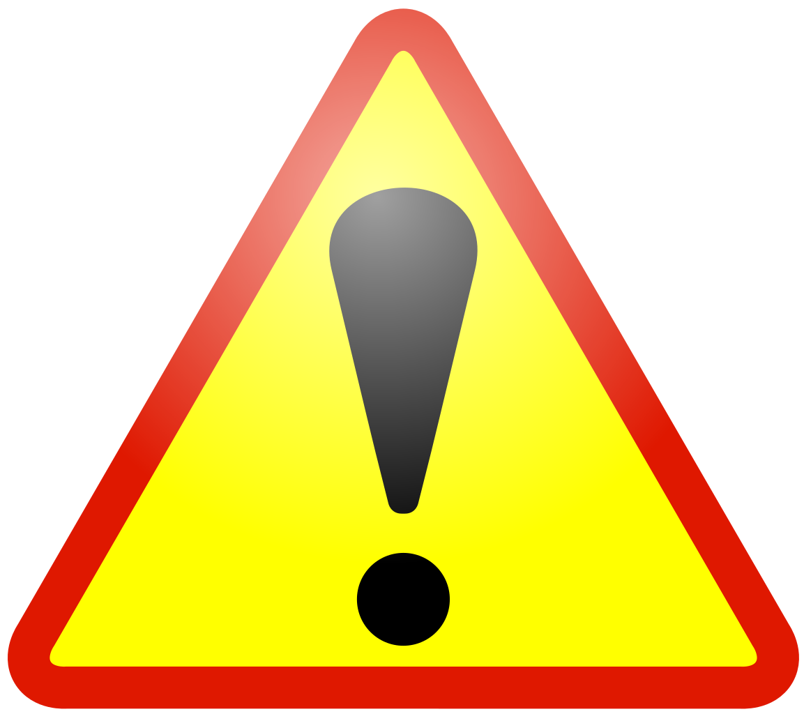 warning sign sign caution warning vector graphic #39206