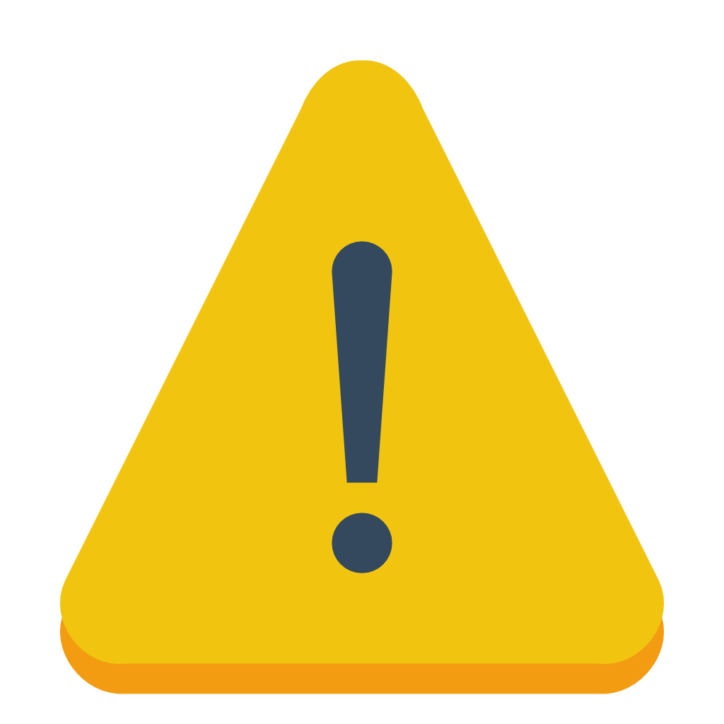 yellow sign warning icon #39188