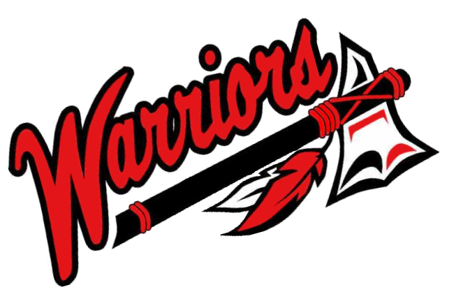 warriors tomahawk cut logo png 3484