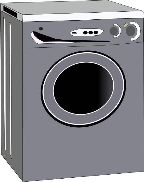 washing machine clip art clkerm vector clip art #20617