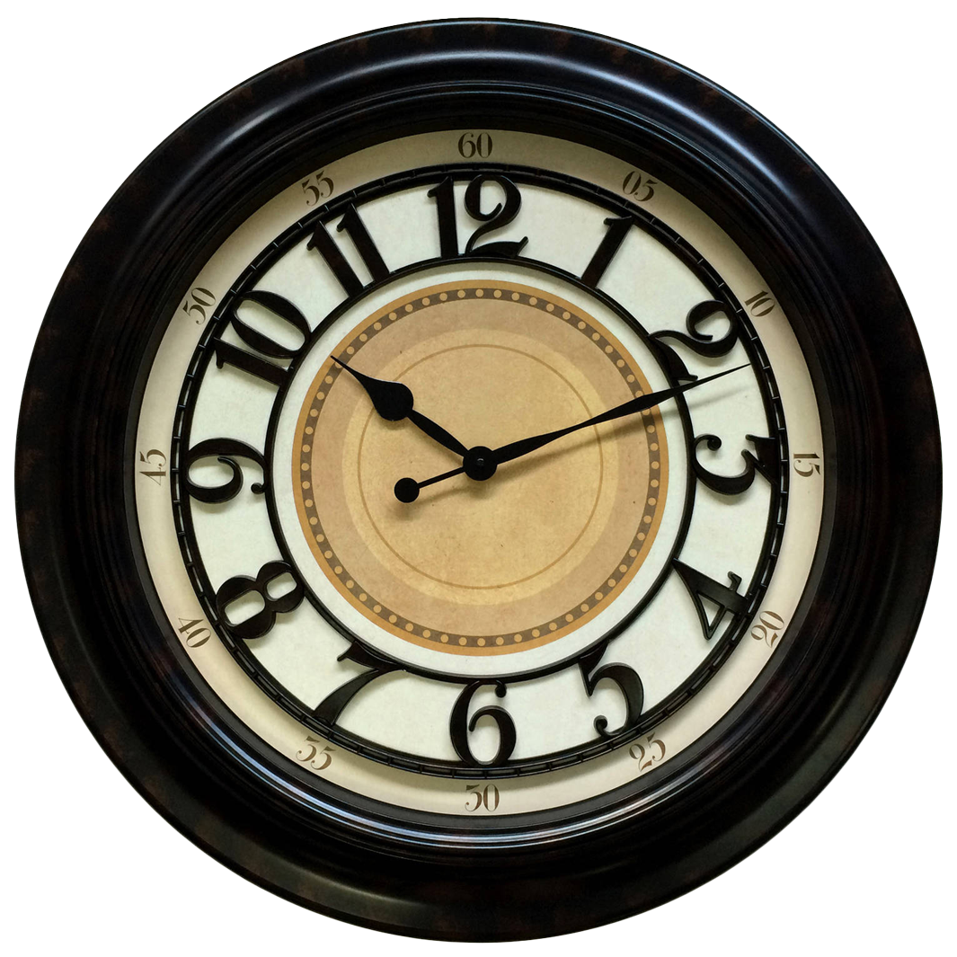 wall watch, antique wall clock png image 20640