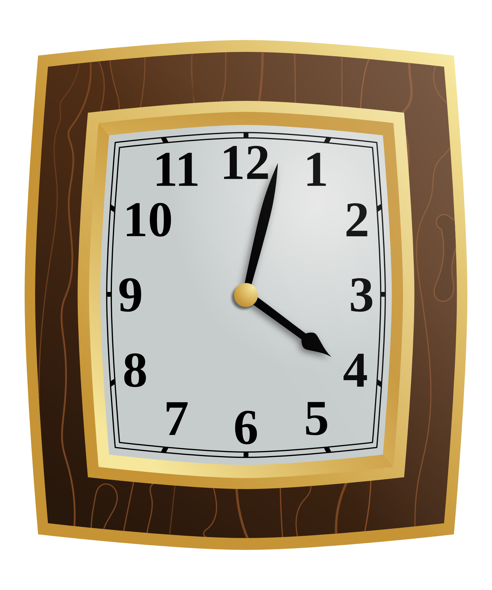 wall watch, clock png image 20639