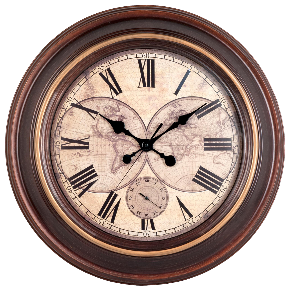 wall watch, vintage wall clock png image pngpix #20629