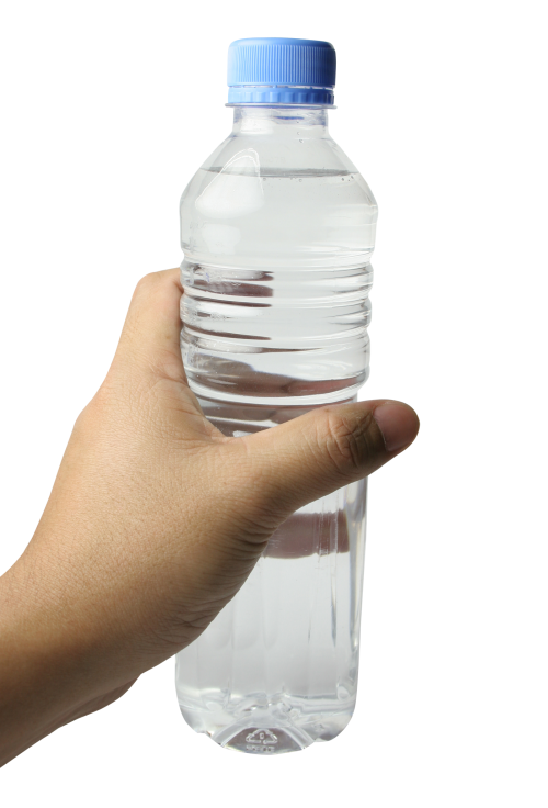 hand with water bottle png transparent image pngpix #18593