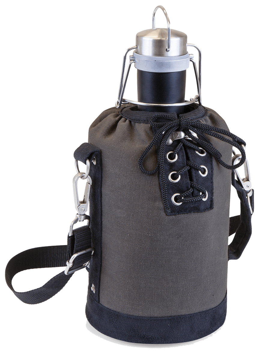 water bottle, luxe your tired summer camping trip with this totally #18688