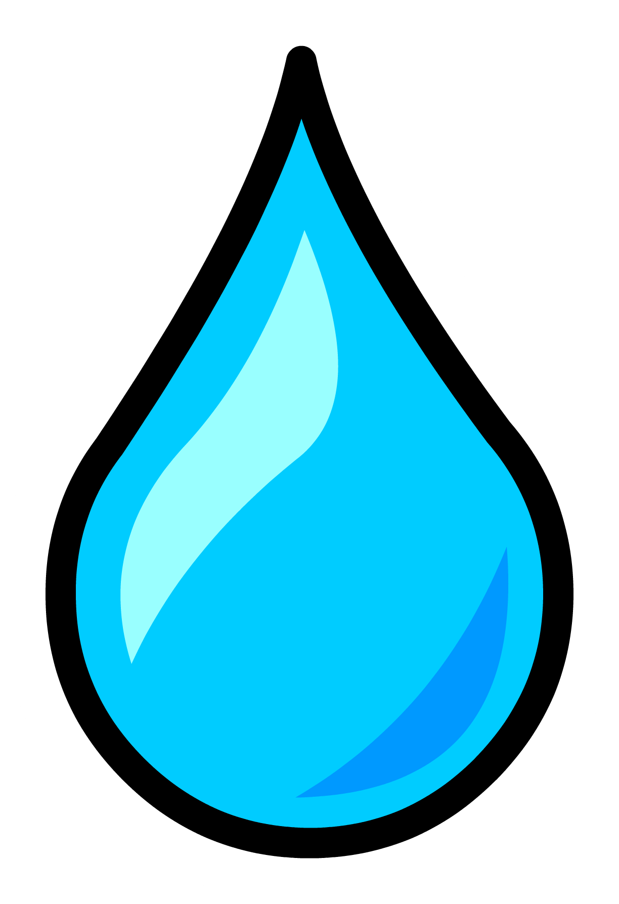 water drop png image water droplet pin club penguin wiki fandom #11870