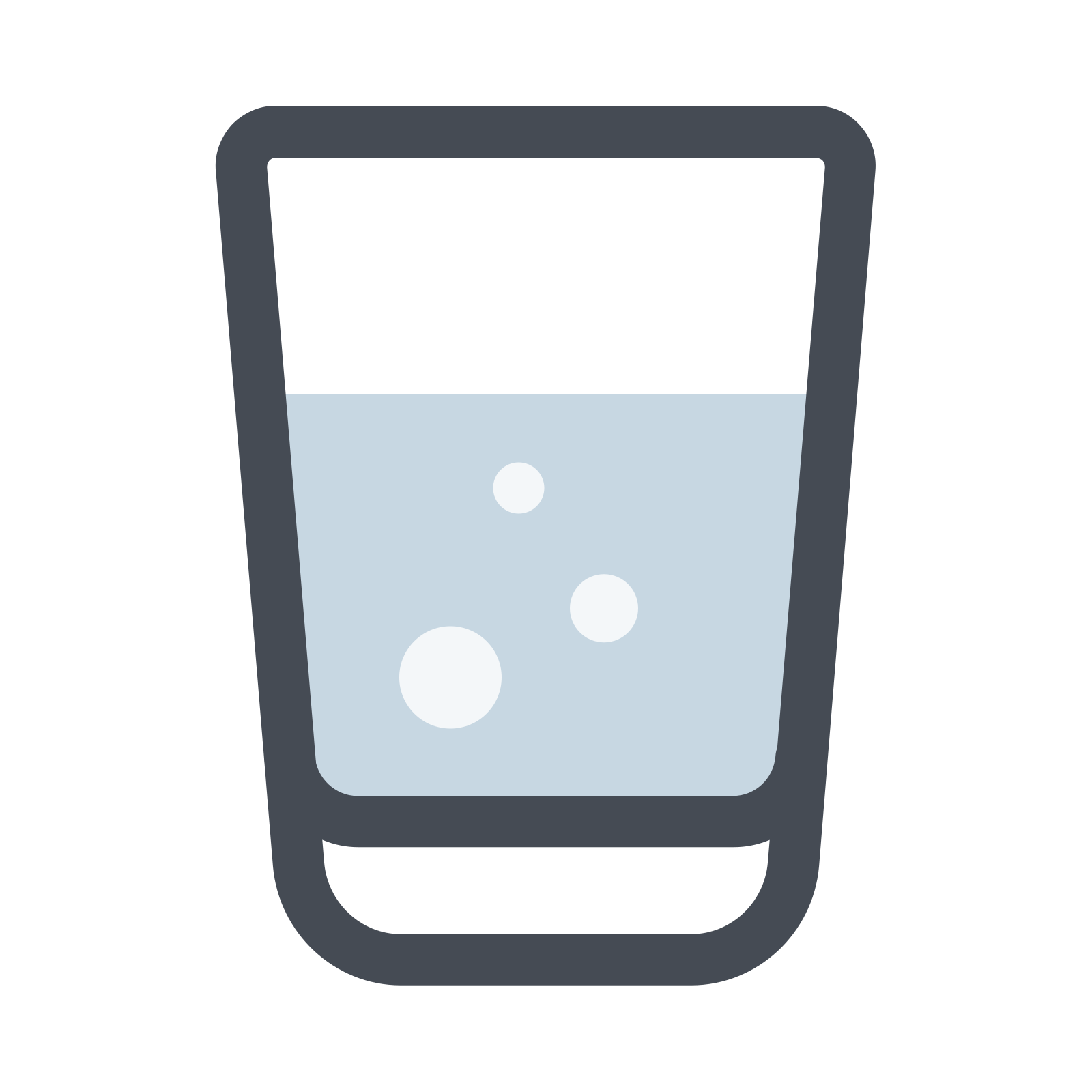 water glass icon download png and vector 26975