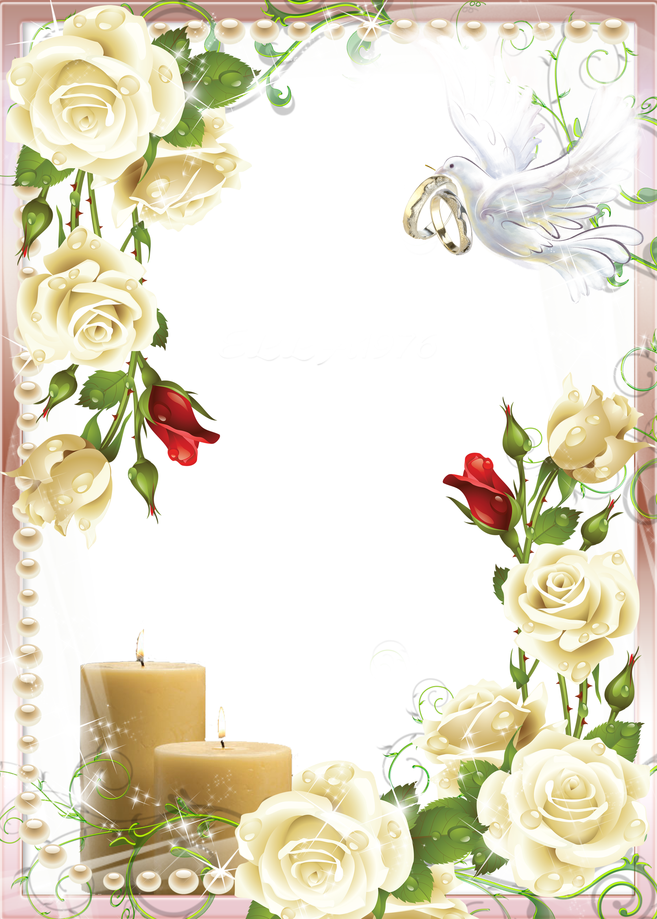 frame clipart wedding png clipground #12595