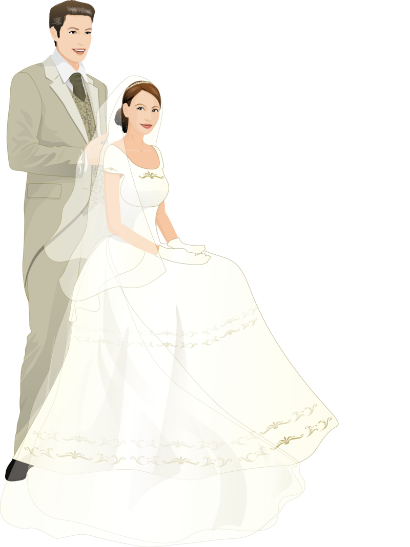 touching hearts wedding png #12443