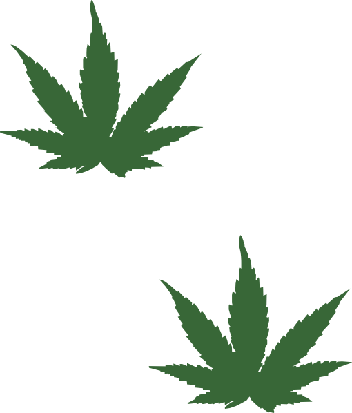 weed leaf clip art clkerm vector clip art online #18514