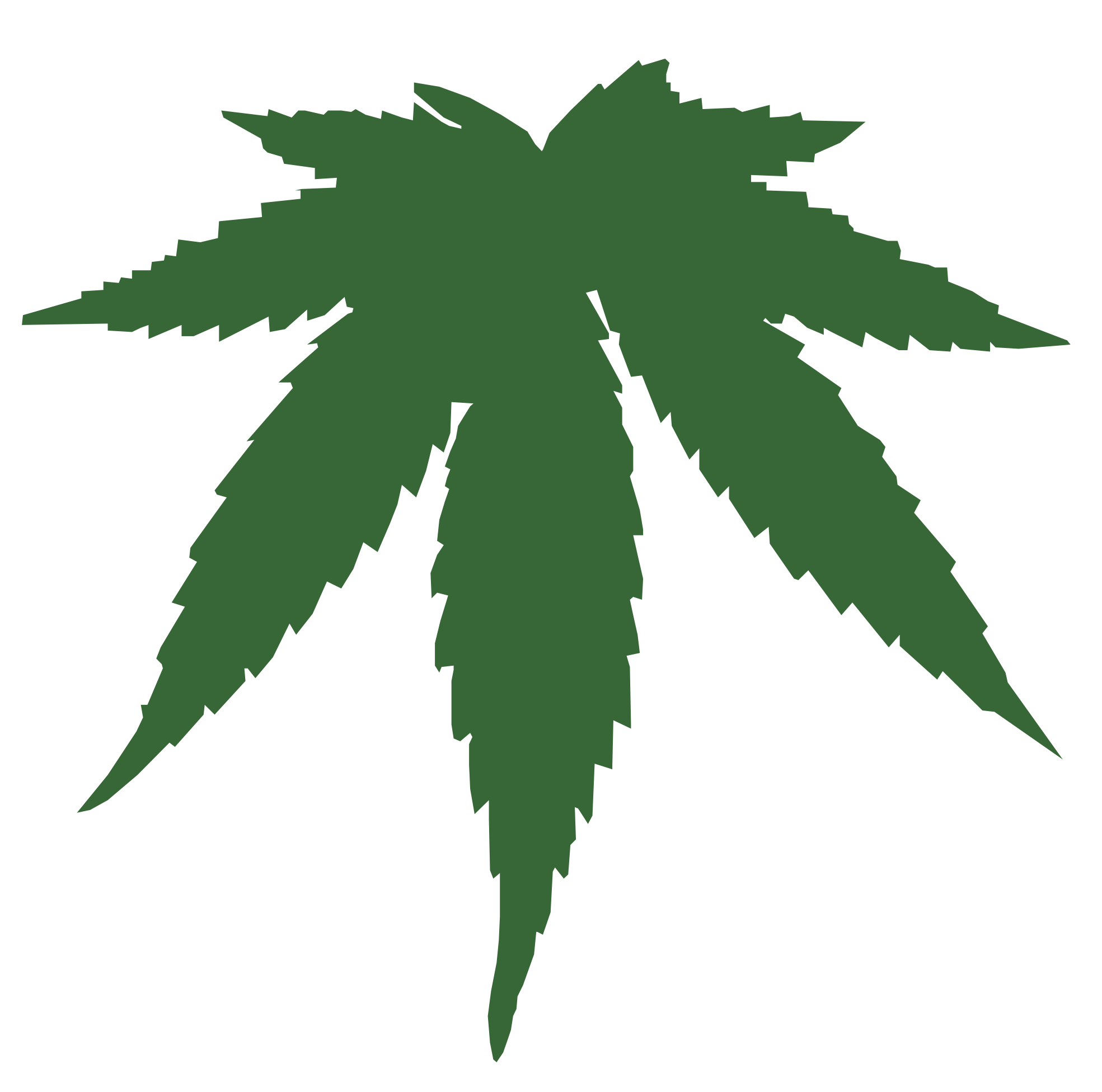 weed leaf, weed symbol png clipart panda clipart images #18515