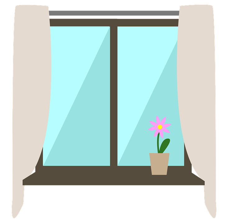 window inside interior vector graphic pixabay #15253