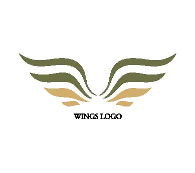 wings logo png #1196