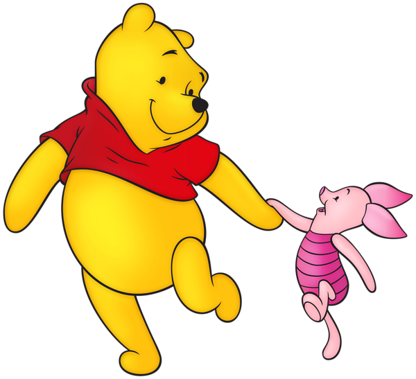 winnie the pooh and piglet png clip art image #17409