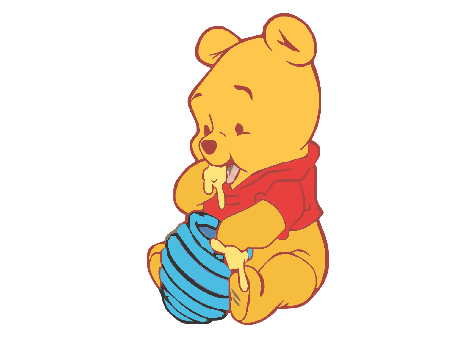 winnie the pooh baby png image purepng #17469
