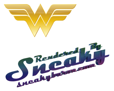 wonder woman logo 1061