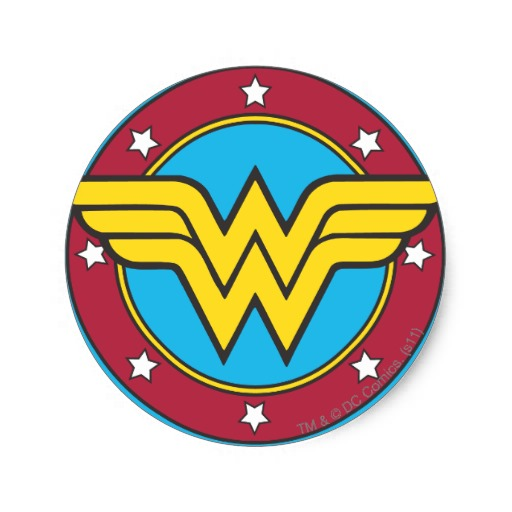 wonder woman logo 1068