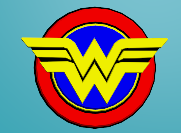 wonder woman logo 1070