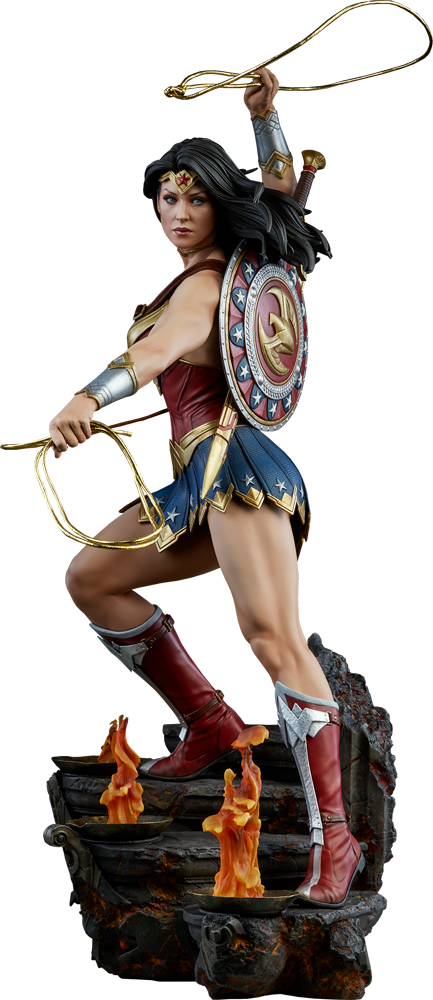 comics wonder woman premium format figure #16488