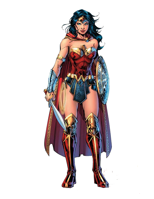 wonder woman comic png render mrvideo vidman all #16462