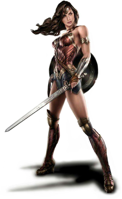 wonder woman png transparent images download #16481