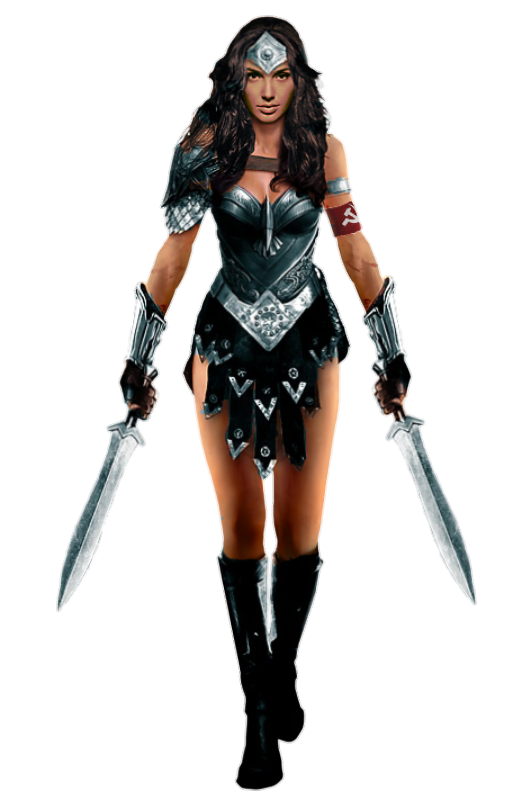 wonder woman red son png render mrvideo vidman #16495