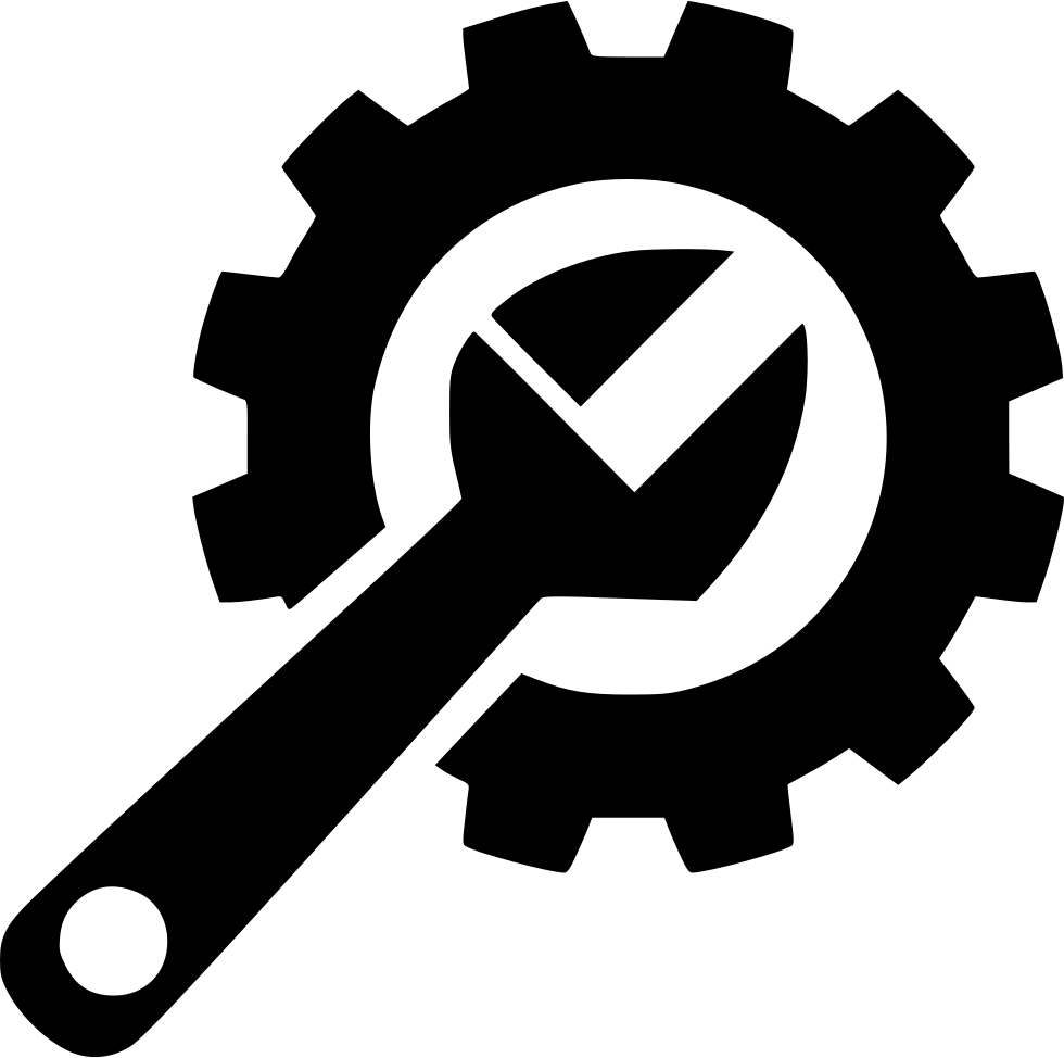 wrench logo png, gear hard repair fix #39765