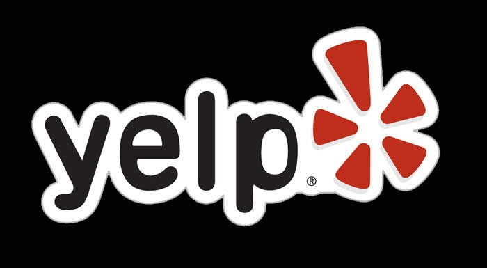 yelp logo black #266