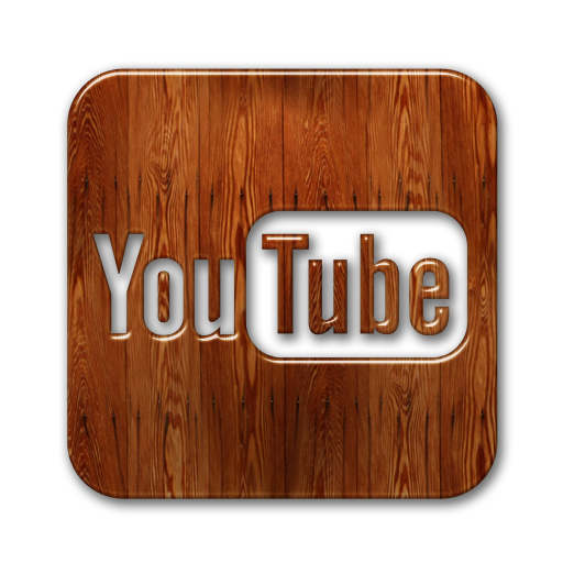 youtube logo wooden social media icons images wood social media #31796