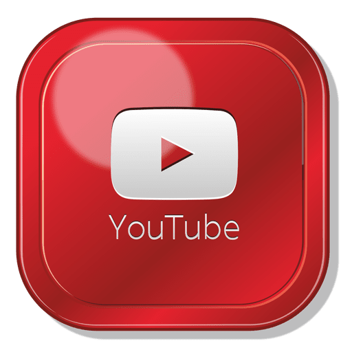 youtube transparent, youtube app square logo transparent png svg vector #31808
