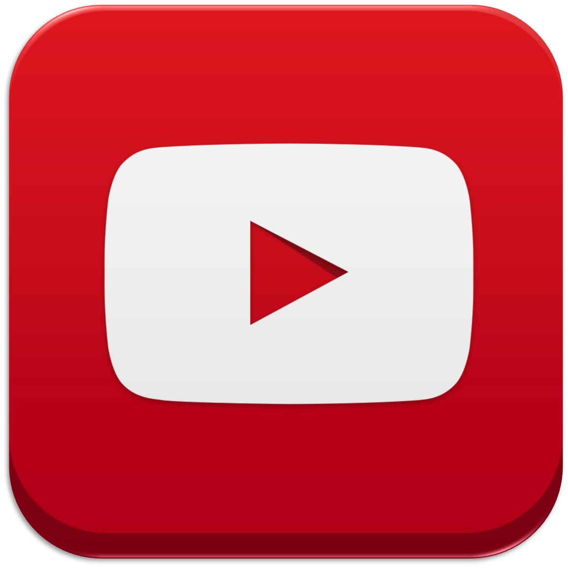 youtube transparent, youtube play button png download clip art #31809