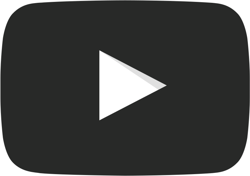youtube tv, file youtube play buttom dark icon svg #24354