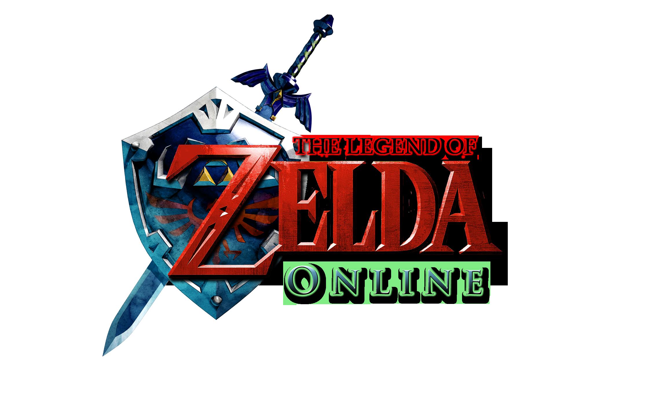 legend of zelda logo png