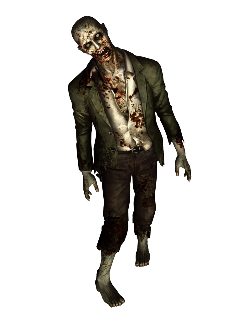 resident evil high quality zombie render